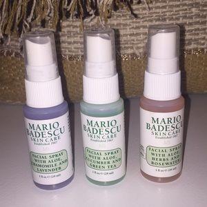 Mario Badescu Facial Spray Set Nwt